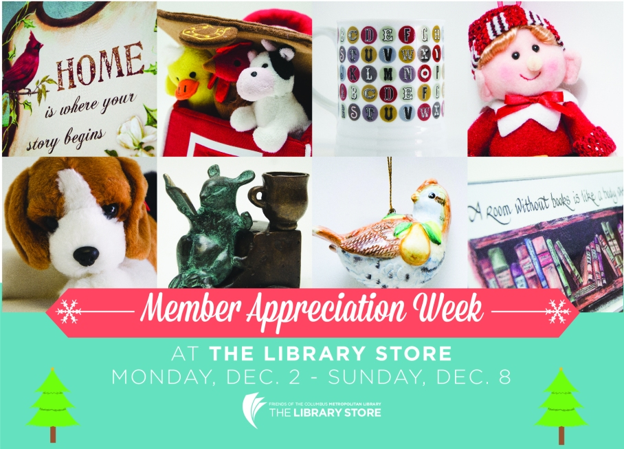 Members Appreciation 2013 Library Store Postcard-Front