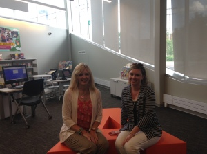 Library supporters visit the new Driving Park Branch